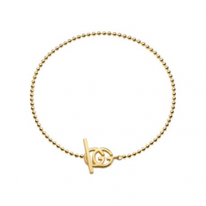 GUCCI RUNNING G YELLOW GOLD BRACELET