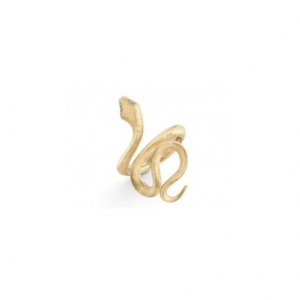 OLE LYNGGAARD COPENHAGEN - SNAKES RING YELLOW GOLD WITH DIAMONDS