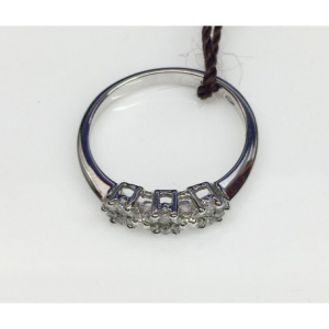 TRILOGY ORO BIANCO E DIAMANTI SELLY, diamanti 0.27 ct
