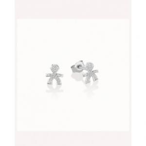 LE BEBè - Le Briciole Mono Orecchino Pavè