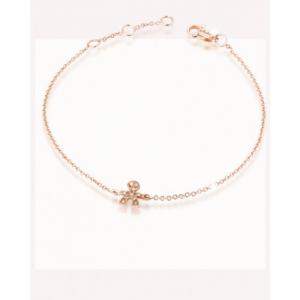 LE BEBè - Le Briciole Bracciali Oro Rosa Pavè