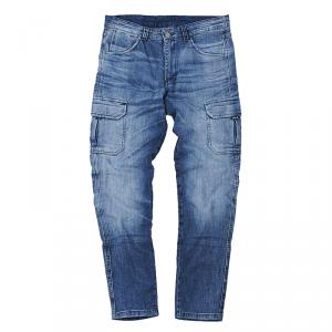 MOTTO WEAR CARGO Jeans Moto - Blu Chiaro