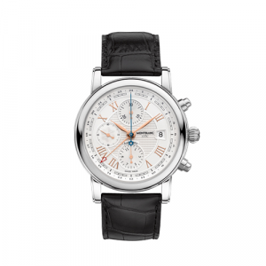 Montblanc Star Roman Watch Chronograph UTC Automatic Carpe Diem