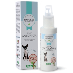 Anti zanzare spray Derbe repellente effetto barriera 125 ml.