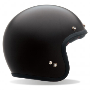 BELL CUSTOM 500 MATT BLACK Casco Jet - Nero Opaco