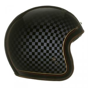 BELL CUSTOM 500 RSD CHECKIT Jet Helmet - Black