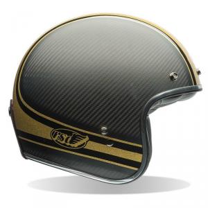 BELL CUSTOM 500 CARBON RSD BOMB Jet Helmet - Black