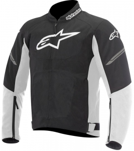 GIACCA MOTO ALPINESTARS VIPER AIR TEXTILE JACKET BLACK WHITE