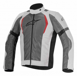 GIACCA MOTO ALPINESTARS AMOK AIR DRYSTAR JACKET LIGHT GRAY DARK GRAY