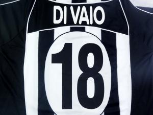 2002-03 Juventus Maglia Home #18 Di Vaio XL