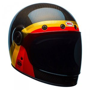 BELL BULLITT CHEMICAL CANDY Full Face Helmet - Black - Red and Yellow