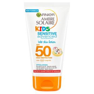 GARNIER-AMBRE SOLAIRE  KIDS PELLE BAGNATA SPF50+