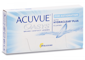 Acuvue Oasys for Astigmatism (6 lenti)