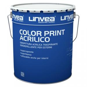 Idropittura Acrilica Color Print Acrilico 14lt LINVEA (DISPONIBILE IN NEGOZIO)