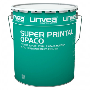 Pittura super lavabile Super Printal Opaco 15lt LINVEA (DISPONIBILE IN NEGOZIO)