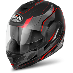 CASCO MOTO AIROH MODULARE REV REVOLUTION BLACK MATT