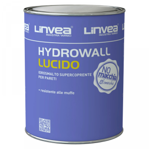 Smalto murale acrilico all'acqua Hydrowall Lucido 10lt LINVEA (DISPONIBILE IN NEGOZIO)