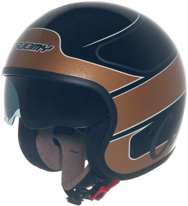 Casco moto Suomy JET 70's  Gold Cafè