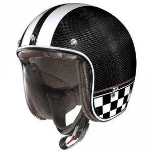 Casco demi-jet X-Lite X-201 Ultra Carbon Willow Springs