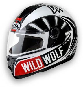 CASCO MOTO AIROH ASTER-X WILD WOLF