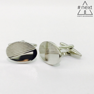 Kensington - Gemelli ovali acciaio inox