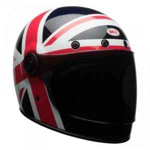 BELL BULLITT CARBON SPITFIRE Full Face Helmet - Blue and Red