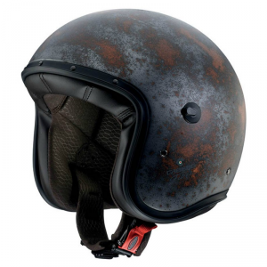CABERG Freeride RUSTY Open Face Helmet - Grey