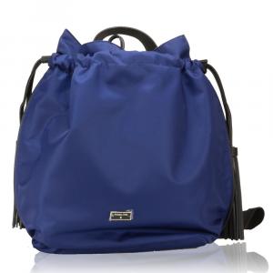 Zaino Patrizia Pepe  2V6595 A1ZL X1ZS Blue nyl./Black