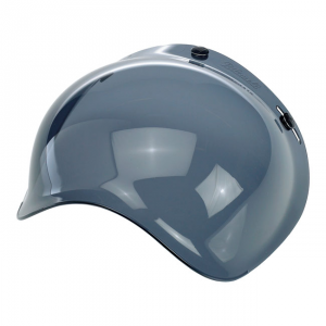 BILTWELL BUBBLE SMOKE Visiera Casco - Trasparente Scuro