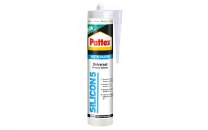 Silicone bianco e trasparente PATTEX