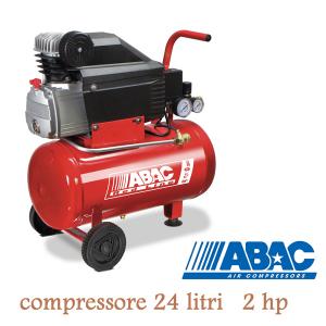 Compressore 24 litri ABAC