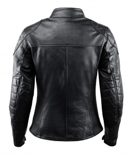 VAND ANDROMEDA LADY Woman Motorcycle Leather Jacket - Black