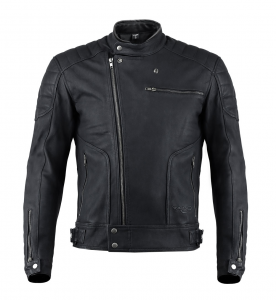 VAND HORIZON Motorcycle Leather Jacket - Black