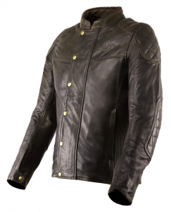 VAND ANDROMEDA Motorcycle Leather Jacket - Brown