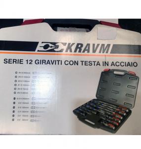 Serie 12 giraviti  Kravim