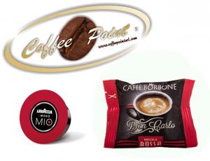 Capsula compatibile A Modo Mio Caffè Borbone Miscela Rossa 100 pezzi