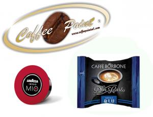 Capsula compatibile A Modo Mio Caffè Borbone Miscela Blu 100 pezzi