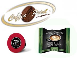 Capsula compatibile A Modo Mio Caffè Borbone Miscela Dek 100 pezzi