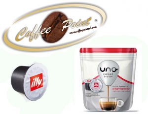 Capsule Uno System Illy Rossa 16 pezzi