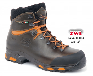 1022 JACKRABBIT GTX® RR WL - Jagdstiefel - Dark Brown/Orange