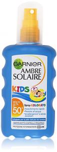 Garnier Ambre Solaire Kids Spray Colorato SPF 50+ 200ml