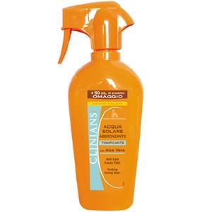 Clinians - Acqua solare abbronzante con aloe vera tonificante 450 ml