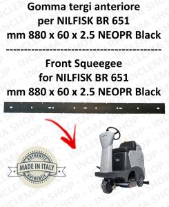 BR 651 - GOMMA TERGI anteriore per lavapavimenti NILFISK