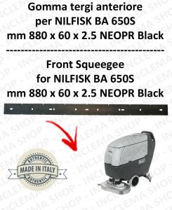 BA 650S - GOMMA TERGI anteriore per lavapavimenti  NILFISK