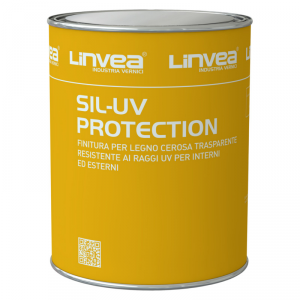 Finitura per legno cerosa Sil-Uv Protection LINVEA