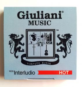 Corde per chitarra classica modello INTERLUDIO HOT Giuliani Music