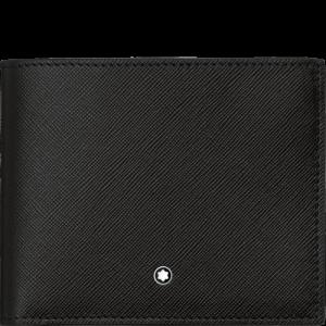 Portafoglio 9 scomparti con tasca trasparente Montblanc Sartorial