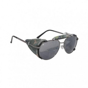 BARUFFALDI ANNAPURNA USA BULL Sunglasses - Grey and Green