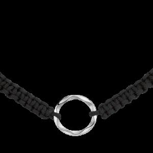 Bracciale Donna Montblanc Âme de Star in cordoncino e argento