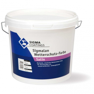 Pittura effetto sbiancato per legno Sigmalan Wetterschutz SIGMA